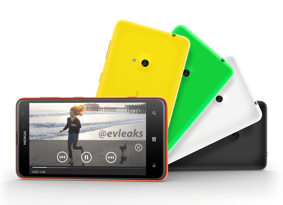 Nokia Lumia 625 packs 4G and 4.7-inch screen